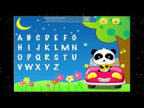 ABC SONG ✿★My ABCs video by BabyBus★✿ Free ipad alphabet learning abc song game app for kids iphone