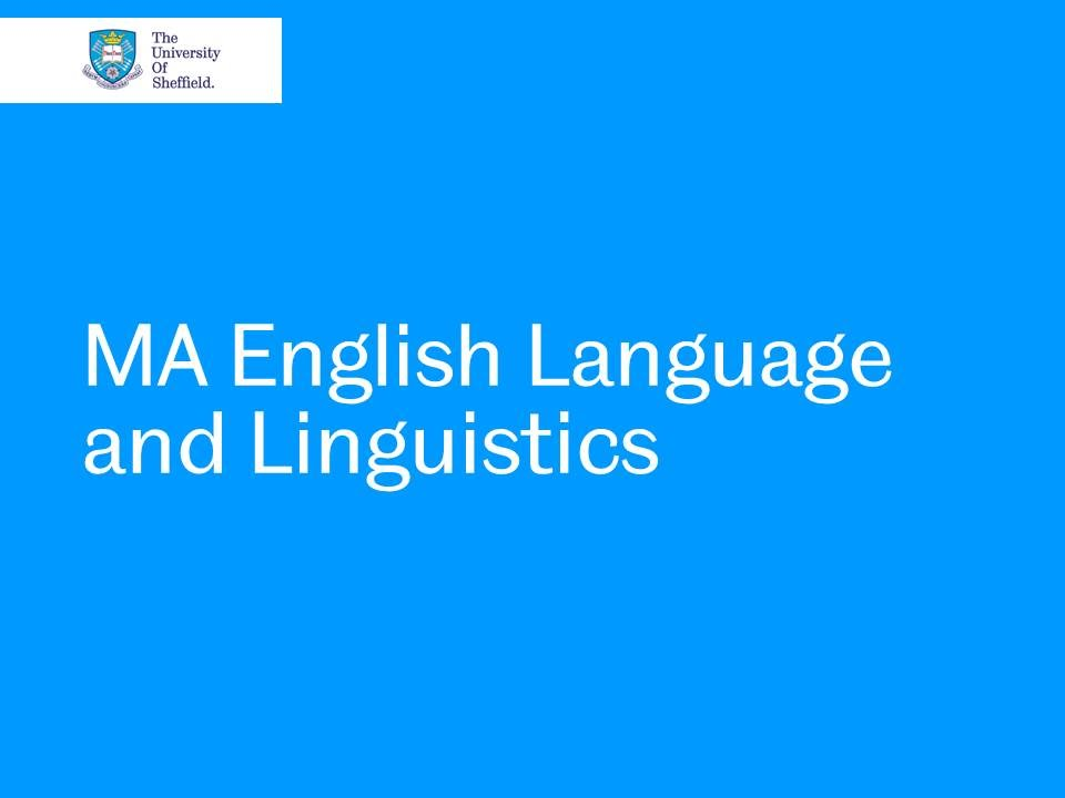 MA in Language and Linguistics