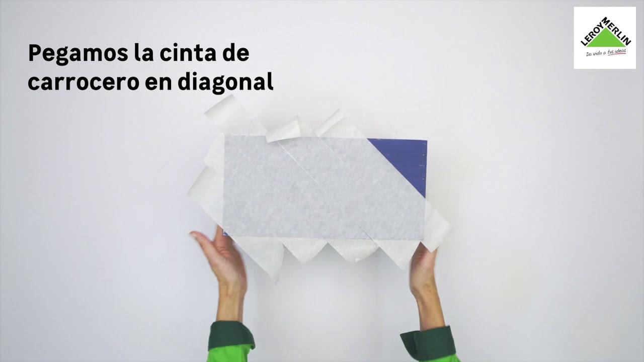 C mo decorar una caja con papel pintado y chalk paint for Papel pintado leroy merlin 2017