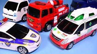 TOBOT CarBot car toys - Rescue transformers robot cars 헬로카봇 또봇 레스큐