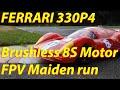 Yankee Legend - Ferrari 330P4 - Quarter scale Brushless RC Model - Gitup Git2 FPV