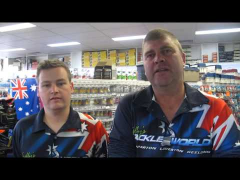 Trellys Tackleworld Geelong - Fishing Report 17/02/15
