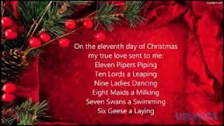 Frank kelly twelve days of christmas lyrics