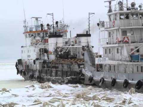 видео: спасение из ледового плена