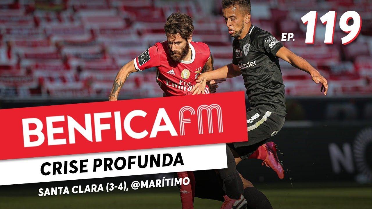 Benfica FM #119 - Benfica x Santa Clara e Marítimo x Benfica (3-4 e 2-0)