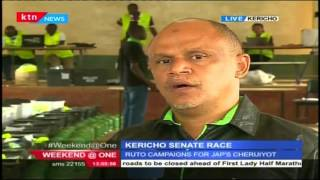 KTN's Political Reporter,Mirimi Mwangi with latest update on the Kericho By-Elections