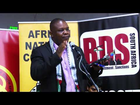 Jacob Mamabolo, MEC for Human Settlements and SACP Provinicial Secretary StopXenophobia Event