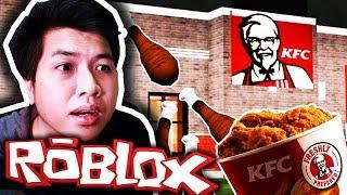 หนีออกจากร้าน KFC สุดแปลก!! ระวังโดนจับไปทอด (Roblox)