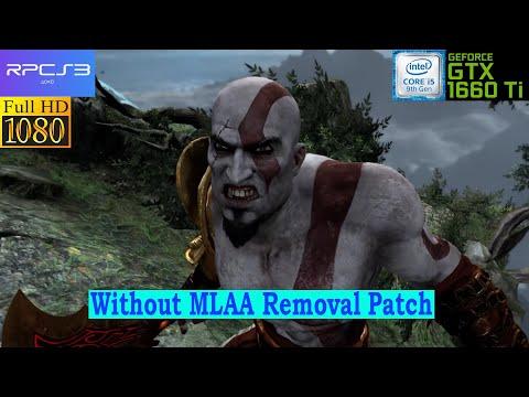 [RPCS3 PS3 Emulator] God Of War III ~IR-720p~ (Vulkan-1080p) - Test 1 - Without MLAA Patch
