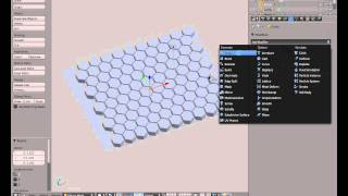 Blender / Creating Honeycomb Pattern