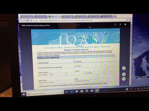 Educational Credential Assesment(ECA) from IQAS for Canada
