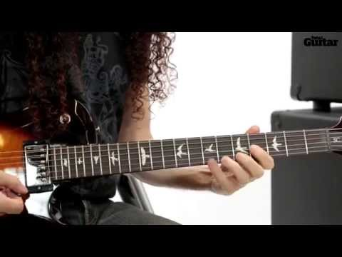 Guitar Lesson: Marty Friedman - Semitone bends