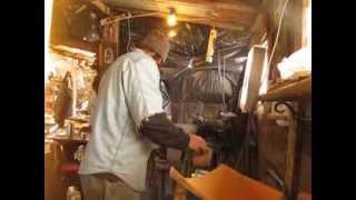 Idaho Hillbilly Homestead # 64 Making Knife Handles With The Idaho Hillbilly