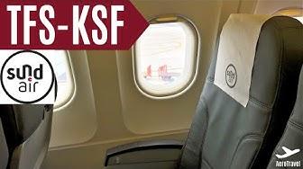 SUNDAIR | TRIPREPORT | AIRBUS A319 | TENERIFE SUR (TFS) - KASSEL CALDEN (KSF) | SR 3131 | 4K