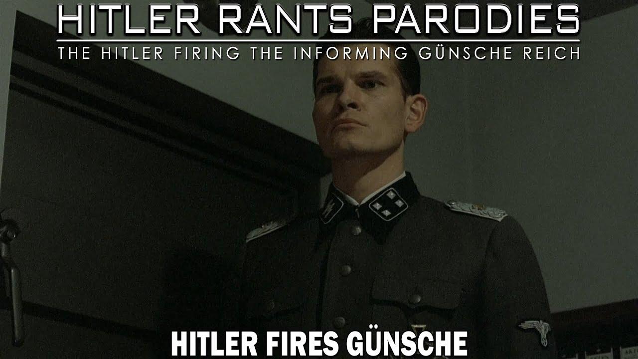 Hitler fires Günsche