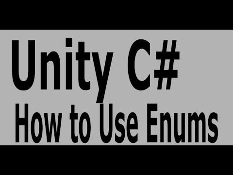 Unity Tutorial: How to Use Enums