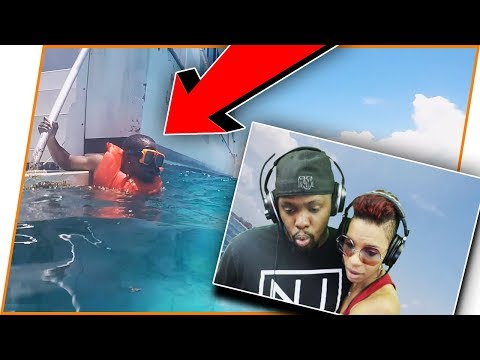 I almost DIED In The Bahamas! Live Footage Reaction!