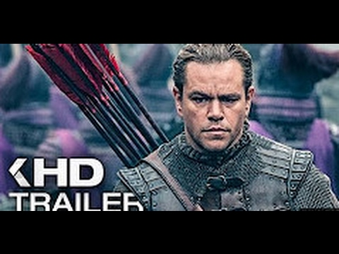 Download THE GREAT WALL - Official Trailer #2 (2017) Matt Damon Movie HD