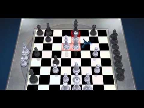 لعبة شطرنج ضد الكمبيوتر