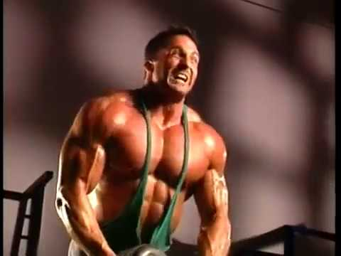 Bodybuilder Chris Duffy Working Out