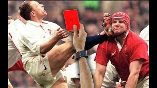 Les plus impressionnants cartons rouges du rugby (re-upload)