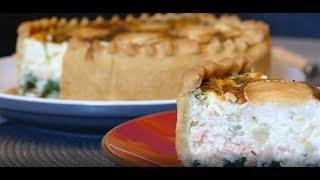 рубленое тесто или ленивое слоёное тесто для солёных пирогов и тарталеток