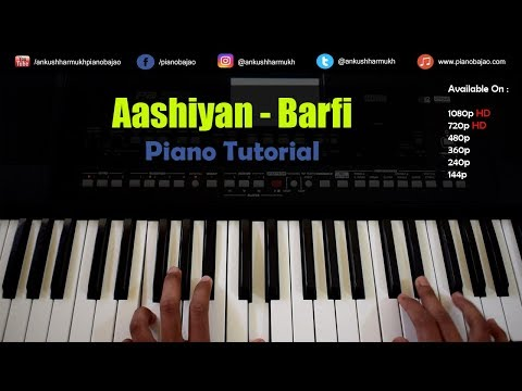 Aashiyan ( Itti Si Hasi ) Piano/Keyboard Tutorial - Pianobajao