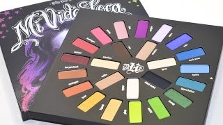 KAT VON D Mi Vida Loca Remix Palette Review & Swatches