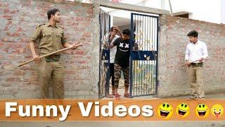 Police VS Public Comedy New Funny Video 2020    Bindas Fun Joke   