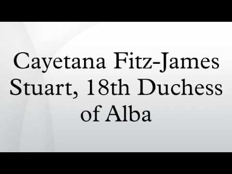 Cayetana Fitz-James Stuart, 18th Duchess of Alba