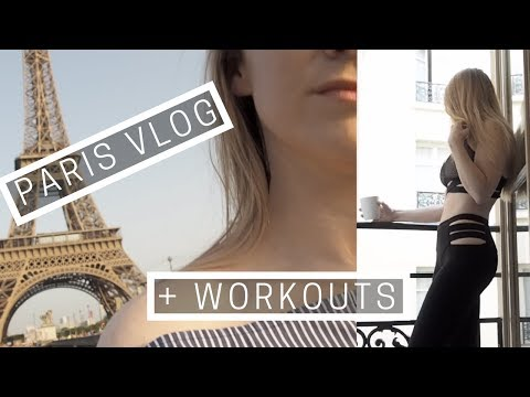Paris Vlog | My Workouts | Traveling Alone | Weekly Workout Vlog