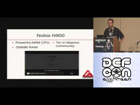 Mobile Privacy: Tor on the iPhone and Other Unusual Devices By Marco Bonetti