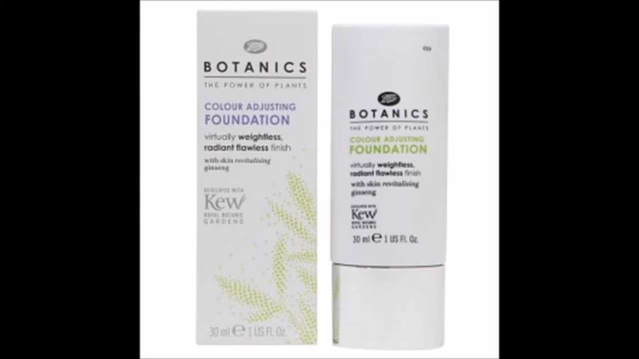 Colour care foundation - Boots Botanics Colour Adjusting Foundation Ivory