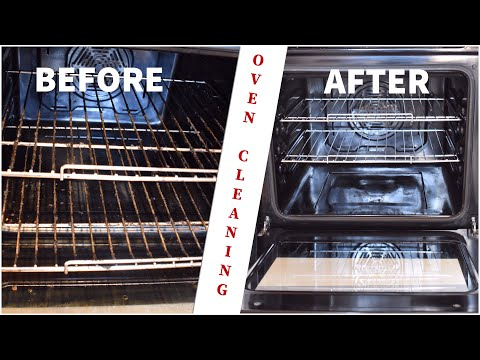 Kitchen Cleaning tips | Electric Oven & Gas stove cleaning |Oven cleaning with Baking soda & Vinegar