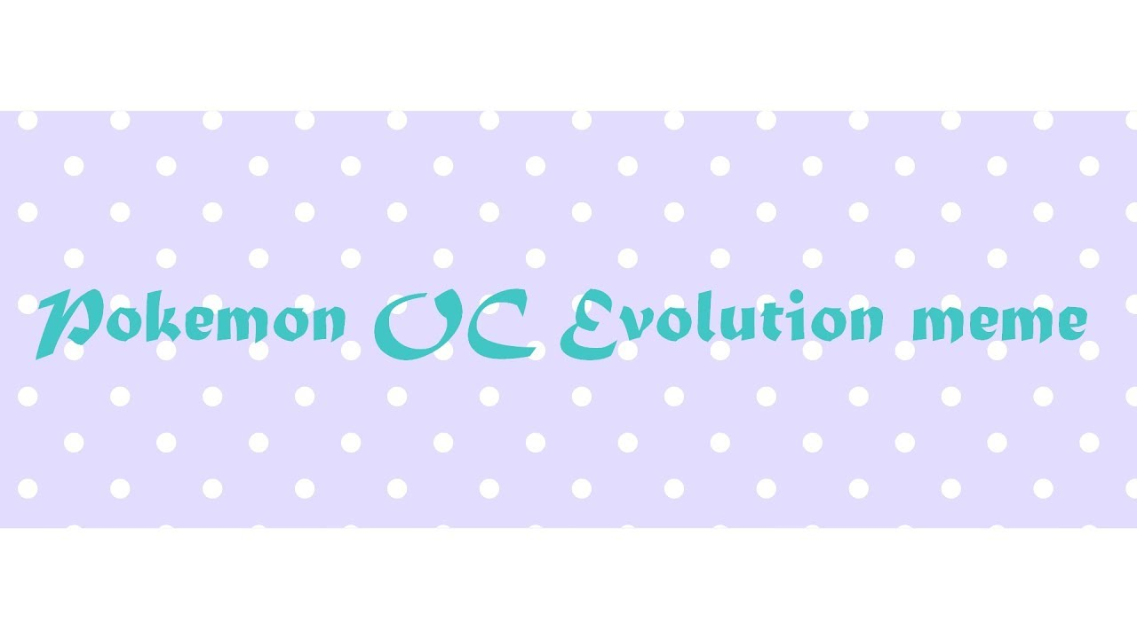 maxresdefault pokemon oc evolution meme feat aceon eeveelution youtube