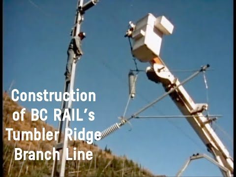 995 Days - Construction of the Tumbler Ridge Line