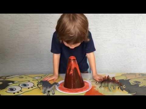 Vinegar Volcano - Fun Science Fair Project