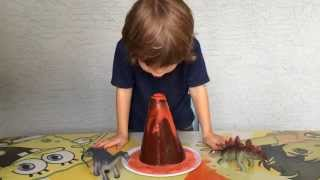 Vinegar Volcano - Fun Science Fair Project