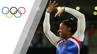 Biles shines for Artistic Gymnastics Individual All-Around gold