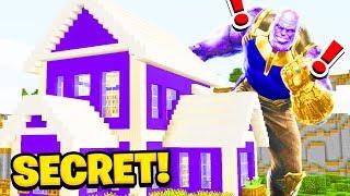 Minecraft: We FOUND THANOS SECRET HOUSE(Ps3/Xbox360/PS4/XboxOne/PE/MCPE)