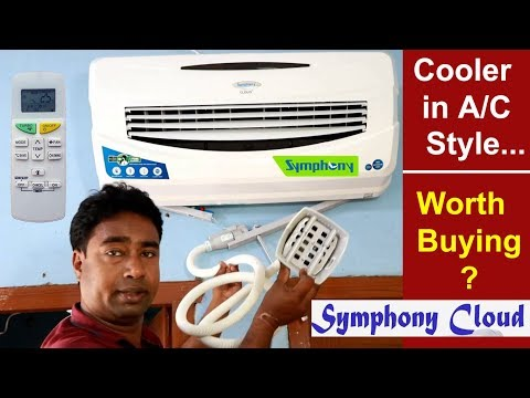 Symphony Cheap & Best Air Cooler for Summer | Review of Symphony Cloud wall mounted