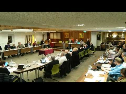 Glos City Council budget meeting, 23.02.17, an hour in (part 1)