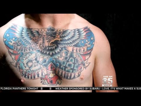 Bay area project helps vets tell their war stories through for Bay area tattoo