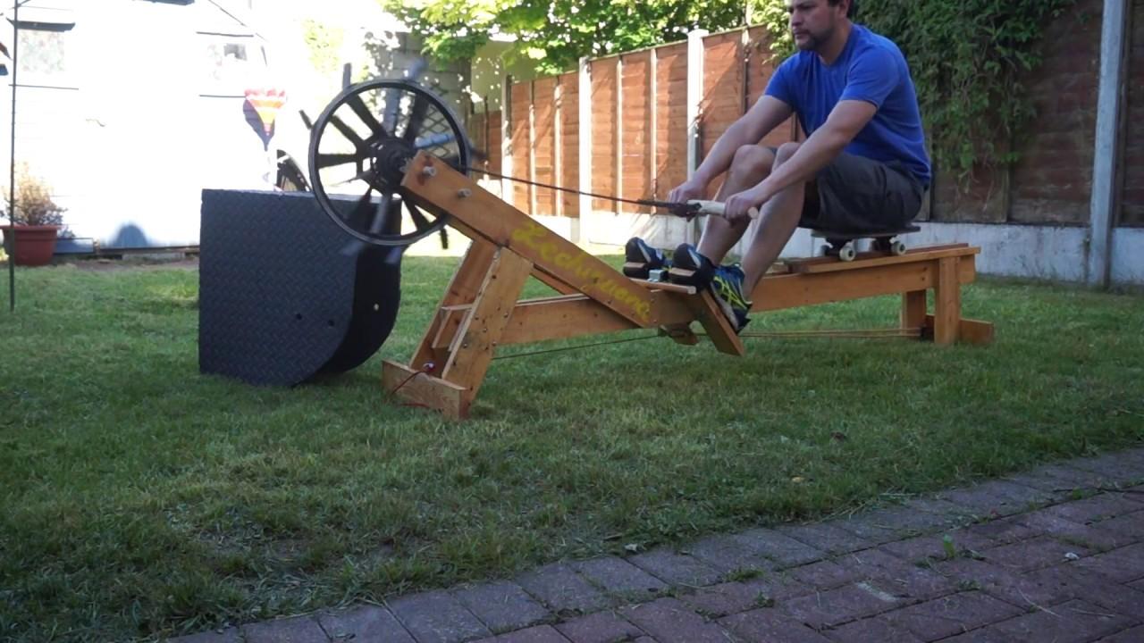DIY rowing machine (Openergo) - Máquina