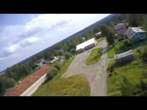 Троицко-Печорск река Печора FPV