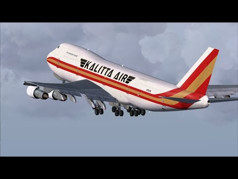 Kalitta Air Legendary Boeing 747-222B(SF) [N793CK] (AMS) Amsterdam Throwback Departure