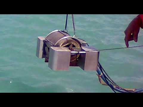 Offshore Mockdrill   Part V  removing of Skimmer