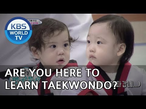 What are they doing at a a taekwondo gym? [The Return of Superman/2018.12.09]