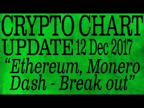 Ethereum Breakout  - Crypto Currency Chart Analysis for December 12, 2017