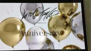 Kian Silva on the Lord and Taylor Anniversary TV Commercial